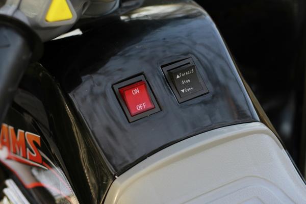 ATV electric pentru copii BJ007 90W 12V STANDARD #Negru 4