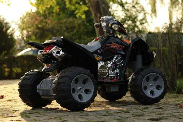 ATV electric pentru copii BJ007 90W 12V STANDARD #Negru 5