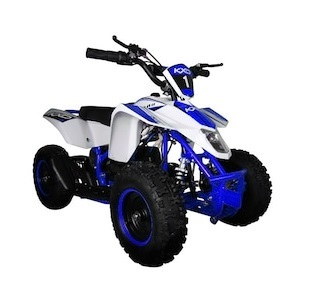 ATV electric pentru copii KXD Maddox M1 800W 36V #Albastru 0