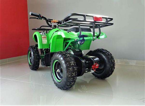ATV electric pentru copii KXD Torino M5 800W 36V #Verde 8