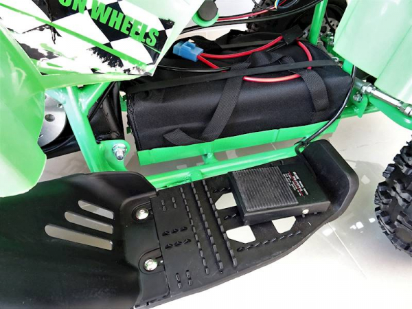 ATV electric pentru copii KXD Torino M5 800W 36V #Verde 3