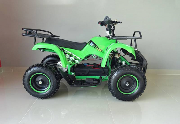 ATV electric pentru copii KXD Torino M5 800W 36V #Verde 2