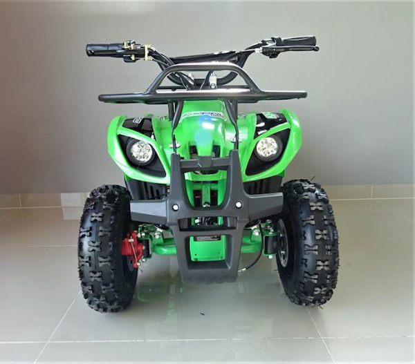 ATV electric pentru copii KXD Torino M5 800W 36V #Verde 7