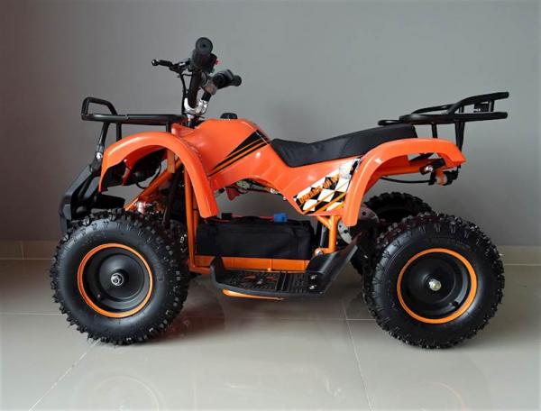 ATV electric pentru copii KXD Torino M5 800W 36V #Portocaliu 13