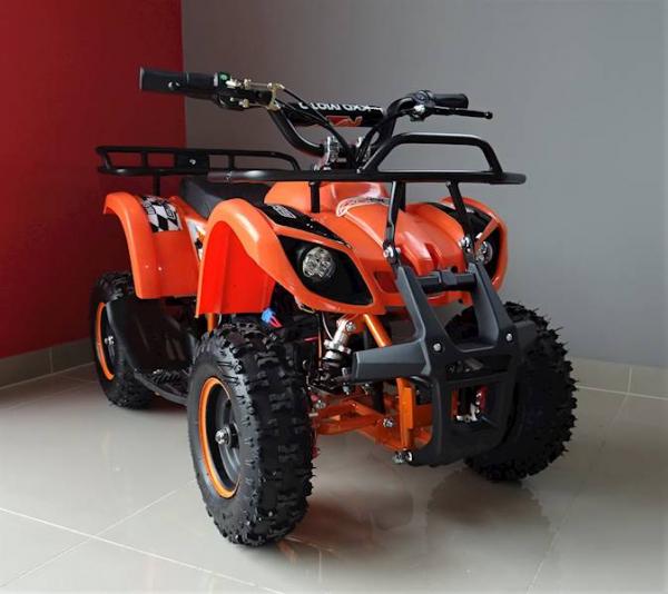 ATV electric pentru copii KXD Torino M5 800W 36V #Portocaliu 8