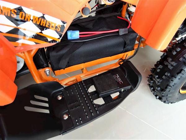 ATV electric pentru copii KXD Torino M5 800W 36V #Portocaliu 11