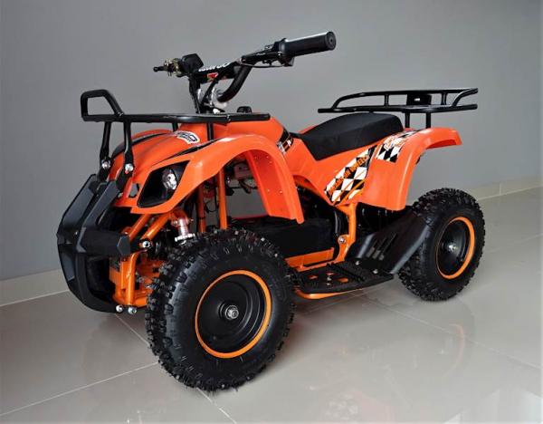 ATV electric pentru copii KXD Torino M5 800W 36V #Portocaliu 15
