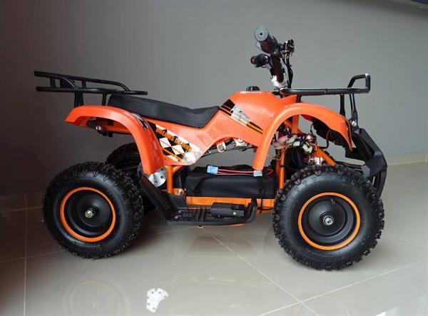 ATV electric pentru copii KXD Torino M5 800W 36V #Portocaliu 10