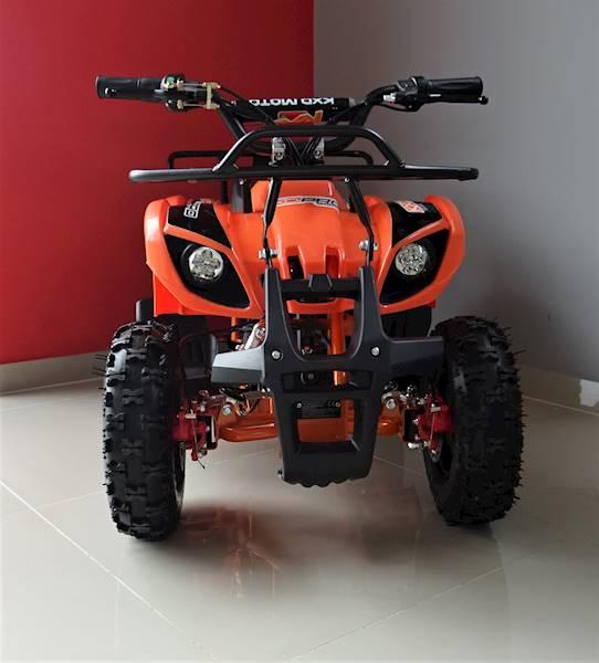 ATV electric pentru copii KXD Torino M5 800W 36V #Portocaliu 9