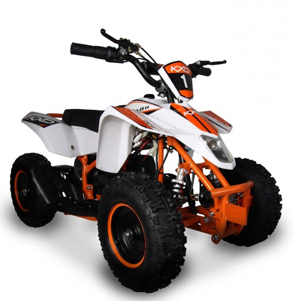 ATV electric pentru copii KXD Maddox M1 800W 36V #Portocaliu 0