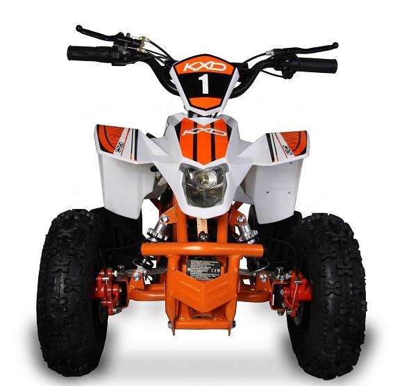 ATV electric pentru copii KXD Maddox M1 800W 36V #Portocaliu 4