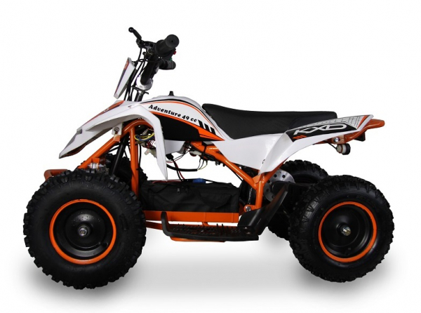 ATV electric pentru copii KXD Maddox M1 800W 36V #Portocaliu 1