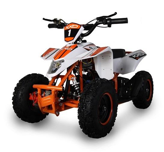 ATV electric pentru copii KXD Maddox M1 800W 36V #Portocaliu 2