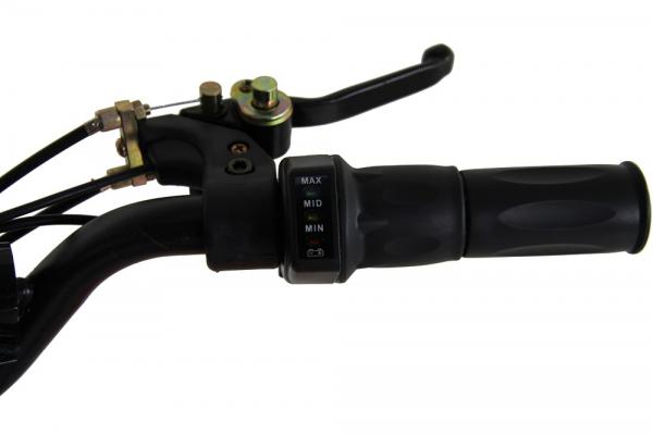 ATV electric pentru copii KXD Maddox M1 800W 36V #Portocaliu 7