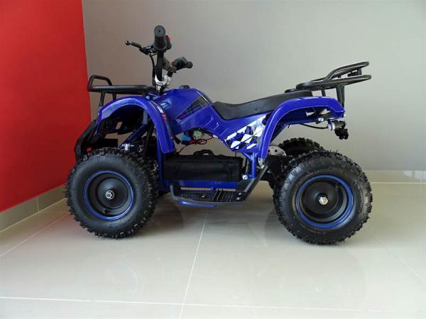 ATV electric pentru copii KXD Torino M5 800W 36V #Albastru 7