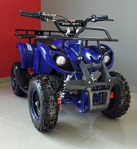 ATV electric pentru copii KXD Torino M5 800W 36V #Albastru 2