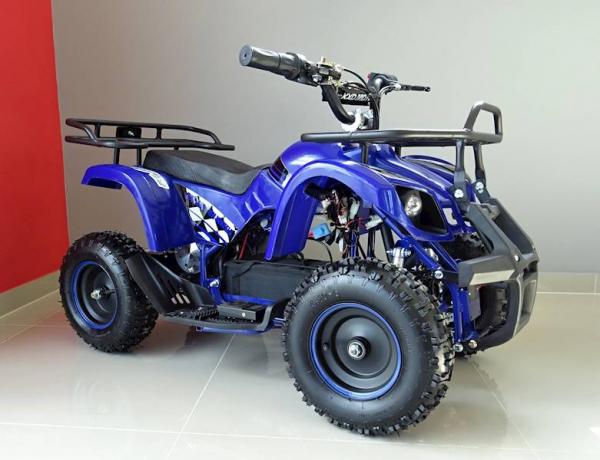 ATV electric pentru copii KXD Torino M5 800W 36V #Albastru 1