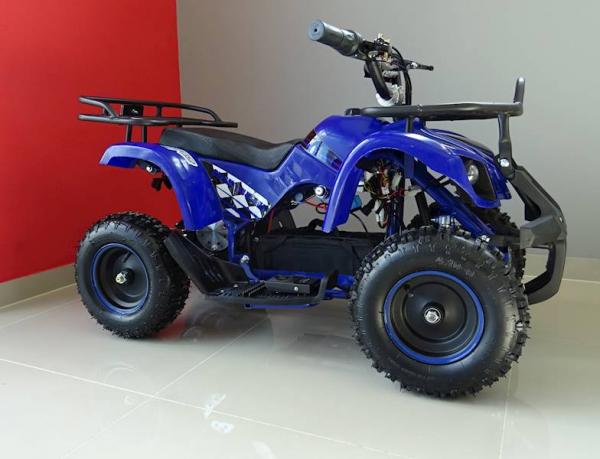 ATV electric pentru copii KXD Torino M5 800W 36V #Albastru 5