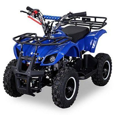 ATV electric pentru copii KXD Torino M5 800W 36V #Albastru 0