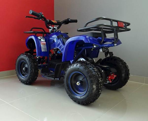 ATV electric pentru copii KXD Torino M5 800W 36V #Albastru 8
