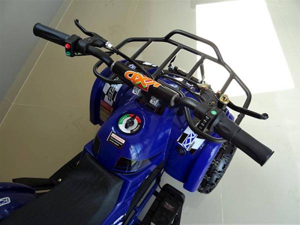 ATV electric pentru copii KXD Torino M5 800W 36V #Albastru 4