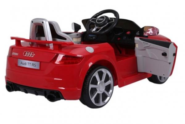 Masinuta electrica Audi TT RS 2x 30W STANDARD 12V #Rosu 4
