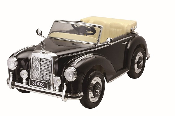 Mercedes 300S OldTimer, negru pentru copii 2-6 ani [0]