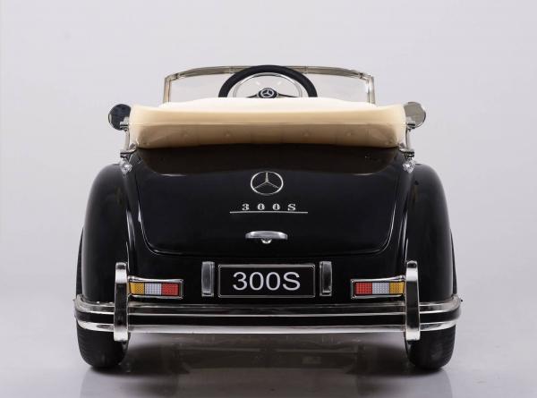 Mercedes 300S OldTimer, negru pentru copii 2-6 ani [8]