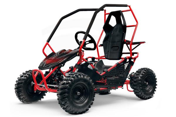 Buggy electric pentru copii NITRO Crosser 1000W 36V #Rosu [0]