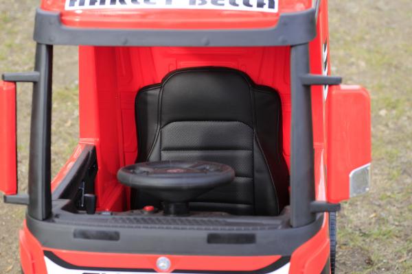 Camion electric Mercedes ACTROS 4x4 180W 12V PREMIUM #Rosu 6