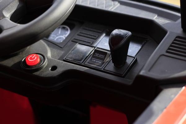 Camion electric Mercedes ACTROS 4x4 180W 12V PREMIUM #Rosu 11
