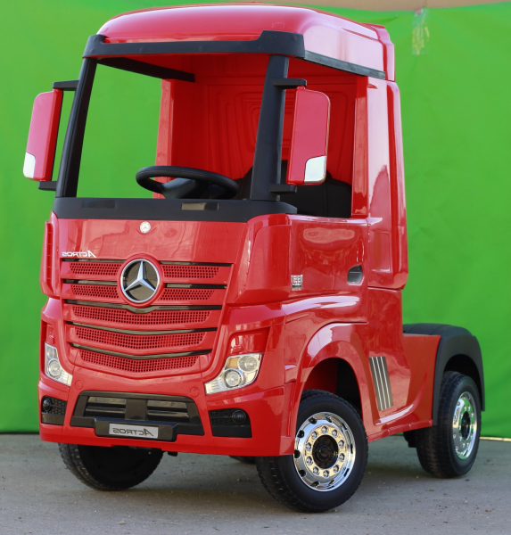 Camion Mercedes ACTROS 4x4 PREMIUM 4x45W #Rosu 2