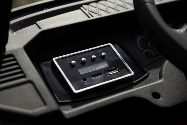 Camion electric Mercedes ACTROS 4x4 180W 12V PREMIUM #Rosu 12