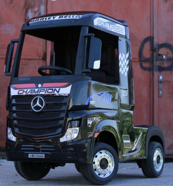 Camion Mercedes ACTROS 4x4 STANDARD 4x45W #Negru 1