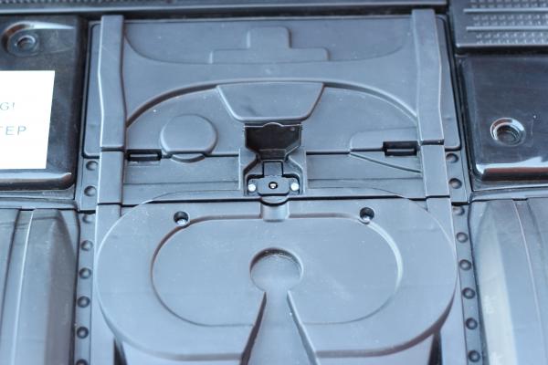 Camion Mercedes ACTROS 4x4 STANDARD 4x45W #Negru 5
