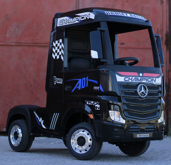 Camion Mercedes ACTROS 4x4 STANDARD 4x45W #Negru 6