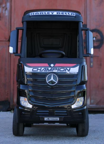 Camion Mercedes ACTROS 4x4 STANDARD 4x45W #Negru 9