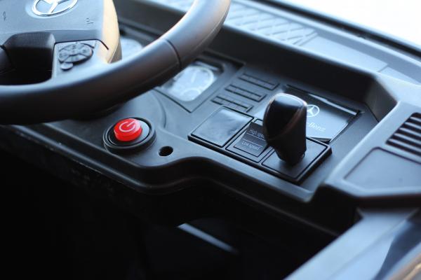 Camion Mercedes ACTROS 4x4 STANDARD 4x45W #Negru 2