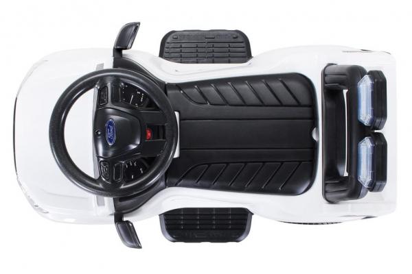 Carucior electric pentru copii 3 in 1 Ford Ranger STANDARD #Alb 3