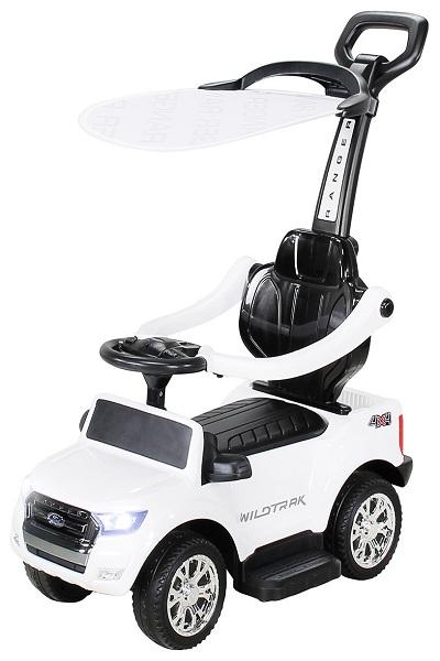 Carucior electric pentru copii 3 in 1 Ford Ranger STANDARD #Alb 0