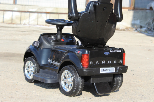Carucior electric pentru copii 3 in 1 Ford Ranger STANDARD #Negru 6