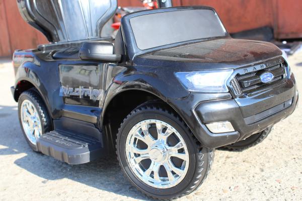 Carucior electric pentru copii 3 in 1 Ford Ranger STANDARD #Negru 4