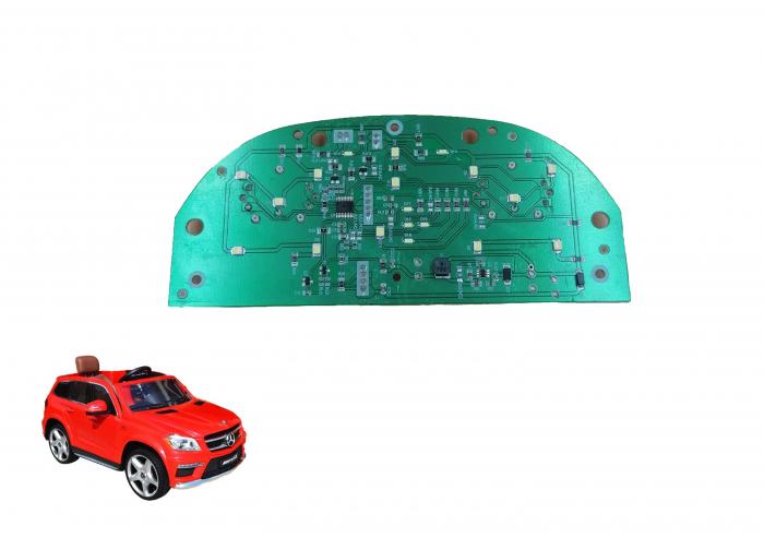 Circuit electric bord masinuta Mercede GL63 Deluxe 0