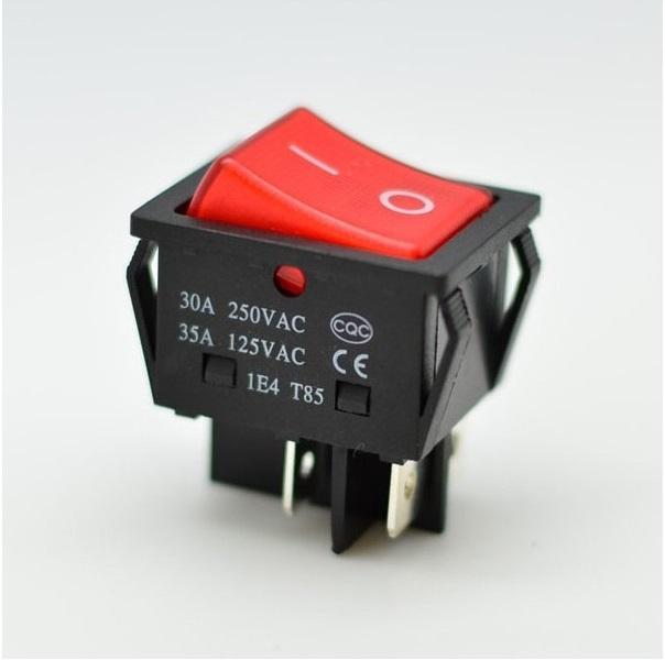 Comutator ON-OFF cu 4 Contacte 220V-30A 12V/24V [0]