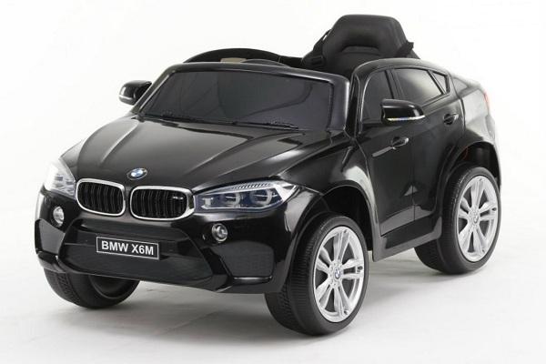 Masinuta electrica BMW X6M 2x35W 12V PREMIUM #Negru 0