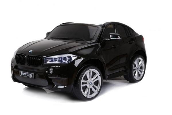 Masinuta electrica BMW X6M 12V XXL PREMIUM #Negru 0