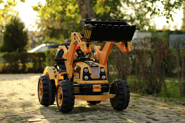 Excavator electric JS328 90W 12V STANDARD #Galben 19