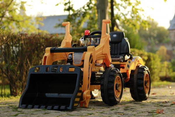 Excavator electric JS328 90W 12V STANDARD #Galben 1