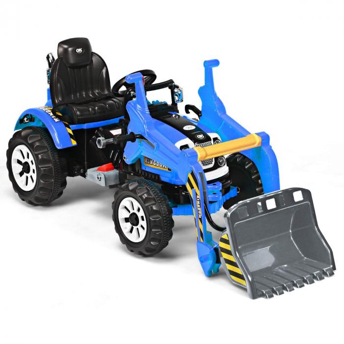 Excavator electric JS328 90W 12V STANDARD #Albastru 4