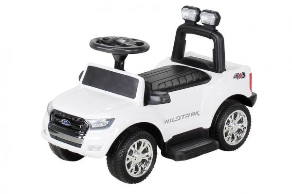 Carut pentru plimbat copii 2 in 1 Ford Ranger STANDARD #Alb 8